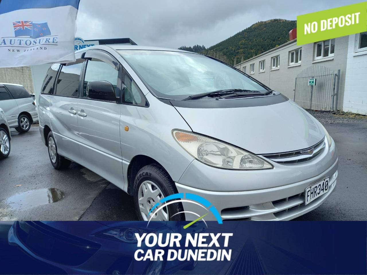 image-0, 2001 Toyota Estima 8 Seats No Deposit Finance at Dunedin