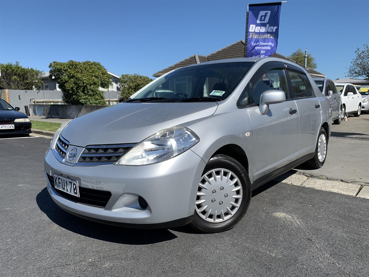 image-1, 2011 Nissan Tiida LATIO SILVER SALOON at Christchurch