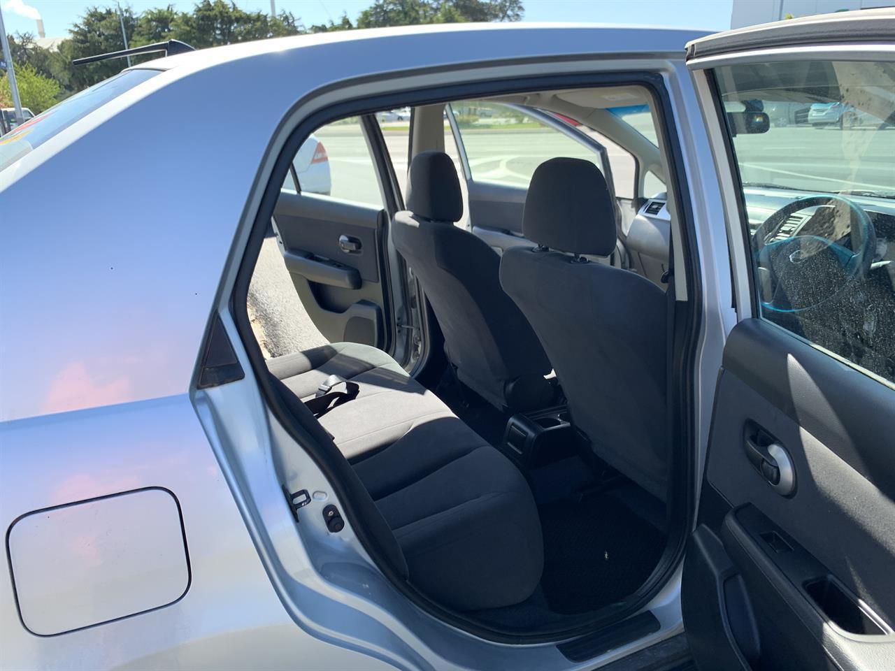 image-12, 2011 Nissan Tiida LATIO SILVER SALOON at Christchurch