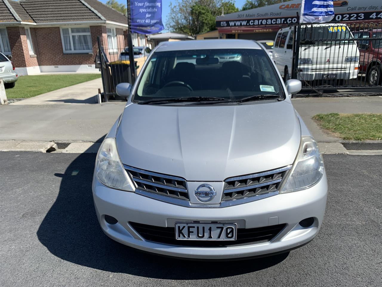 image-4, 2011 Nissan Tiida LATIO SILVER SALOON at Christchurch