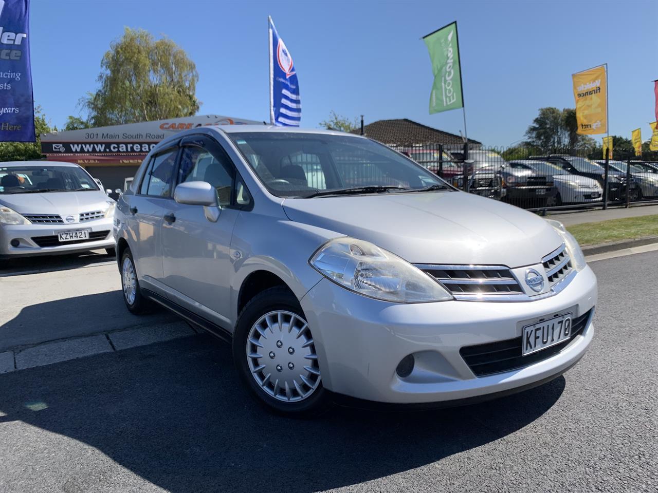 image-0, 2011 Nissan Tiida LATIO SILVER SALOON at Christchurch