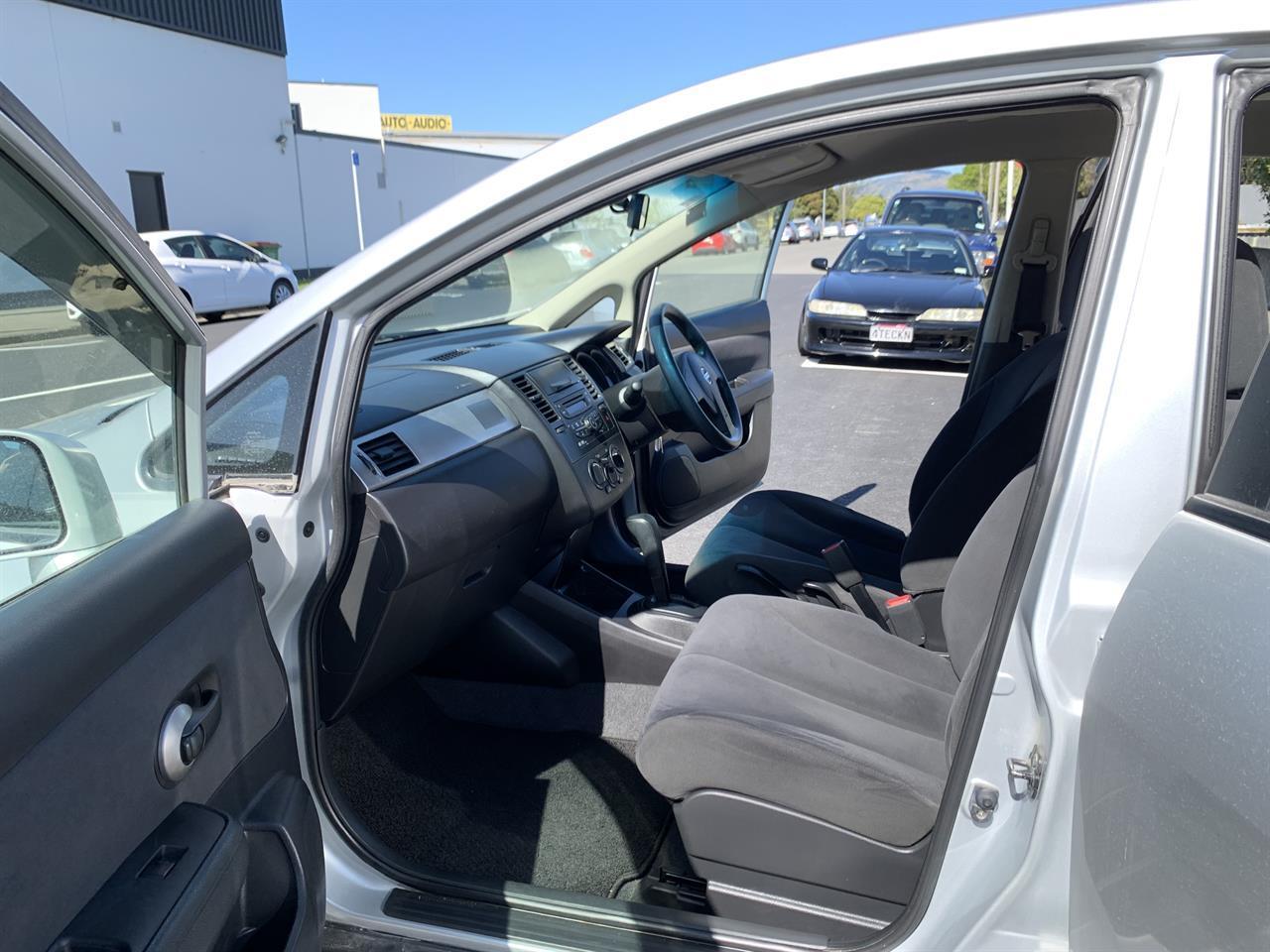 image-10, 2011 Nissan Tiida LATIO SILVER SALOON at Christchurch