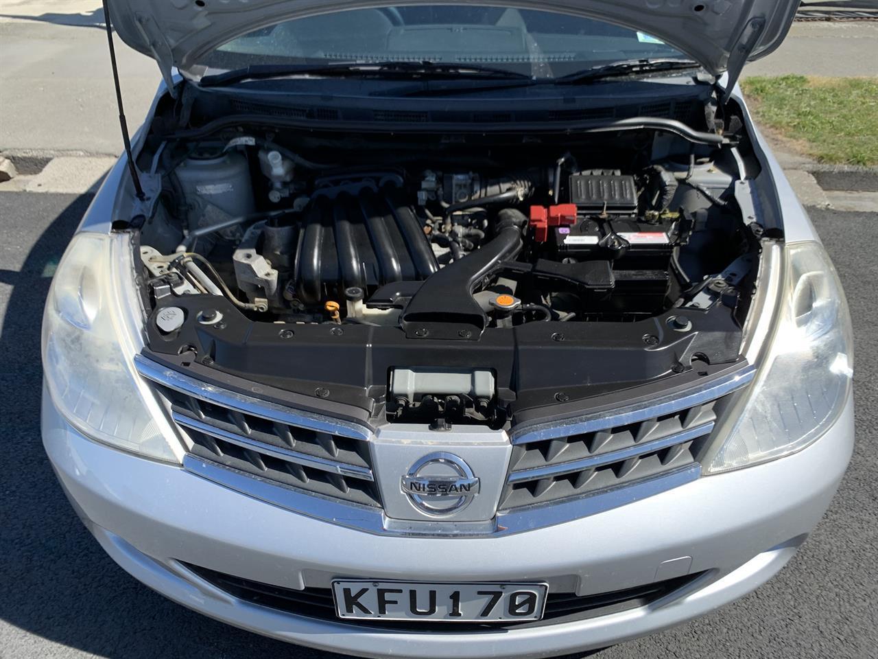 image-15, 2011 Nissan Tiida LATIO SILVER SALOON at Christchurch