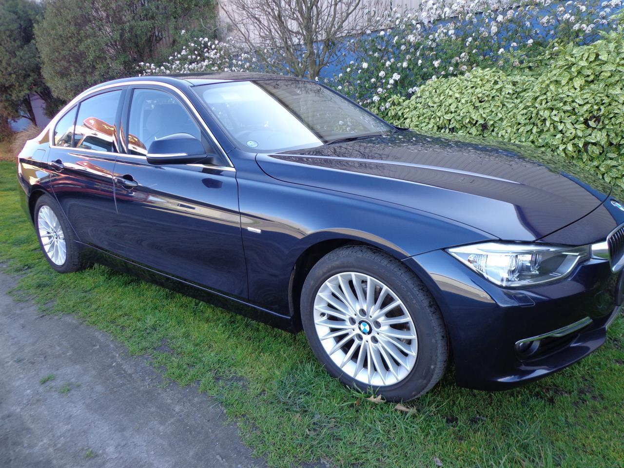 image-0, 2014 BMW 320D DIESEL LUXURY at Christchurch