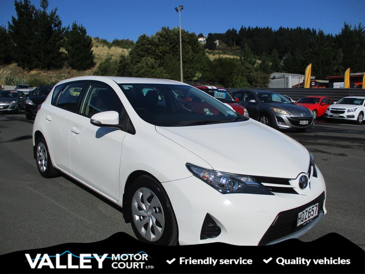 image-0, 2014 Toyota Corolla GX 1.8P HATCH CV at Dunedin