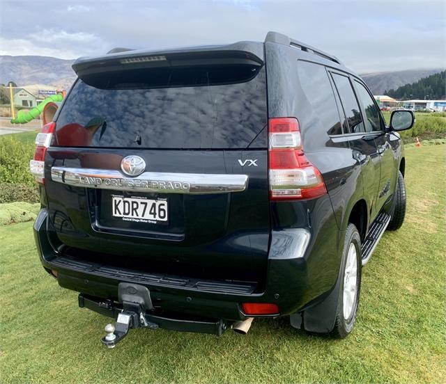 image-3, 2016 Toyota Land Cruiser Prado VX 2.8D 4WD Auto at Central Otago