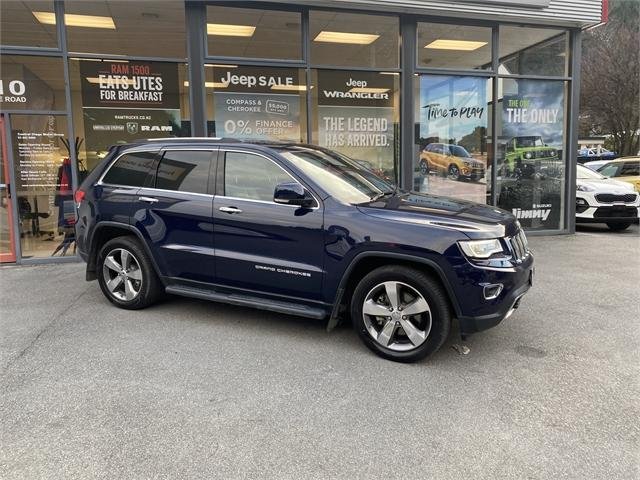 image-1, 2015 Jeep Grand Cherokee 3.0 Diesel Limited at Central Otago