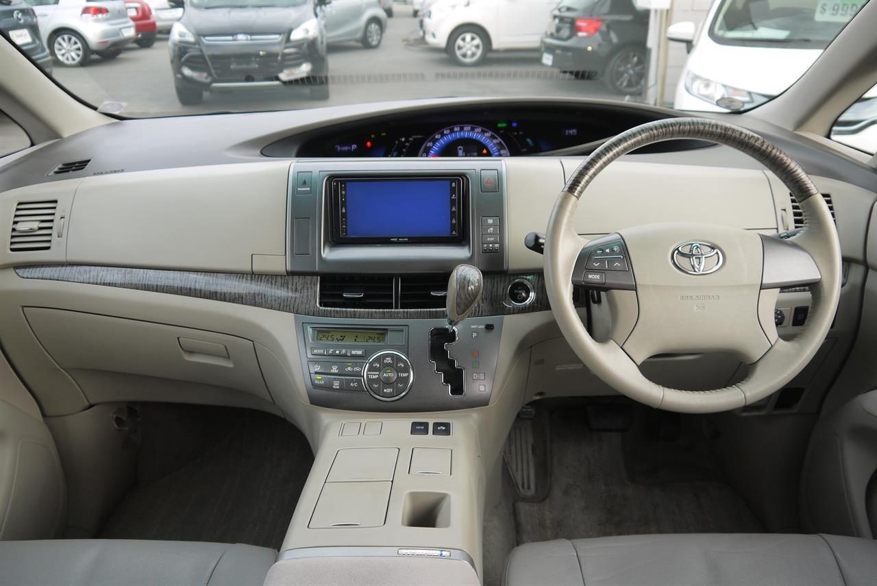 image-18, 2009 Toyota Estima E-Four Hybrid X at Christchurch