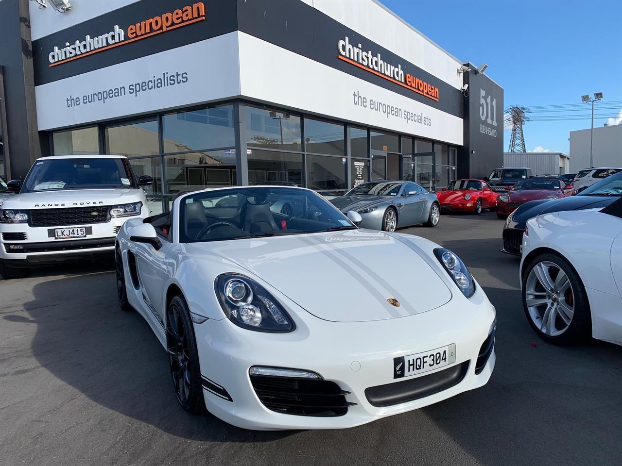 image-1, 2014 Porsche Boxster 981 PDK Convertible at Christchurch