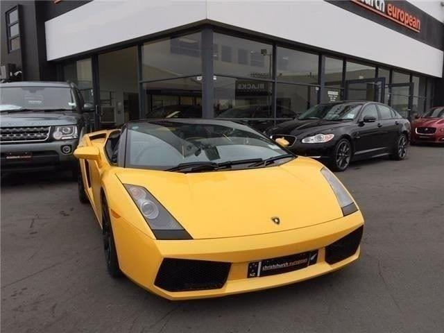 image-1, 2007 Lamborghini Gallardo V10 E Gear Spyder at Christchurch