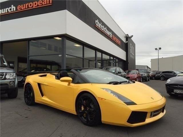 image-0, 2007 Lamborghini Gallardo V10 E Gear Spyder at Christchurch