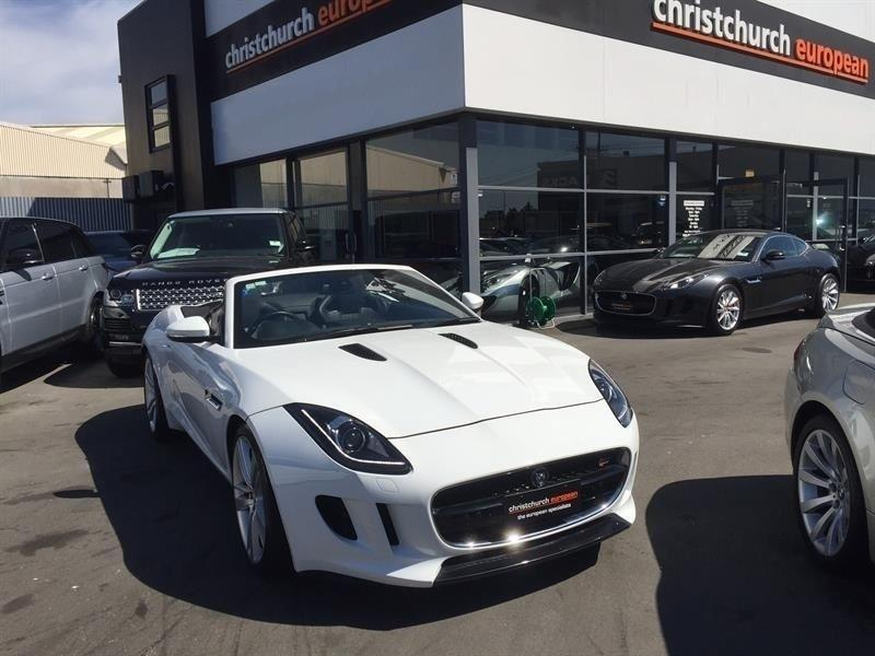 image-1, 2013 Jaguar F-Type S Supercharged Convertible at Christchurch