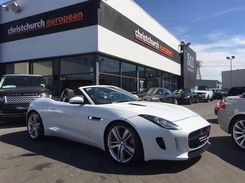 image-0, 2013 Jaguar F-Type S Supercharged Convertible at Christchurch