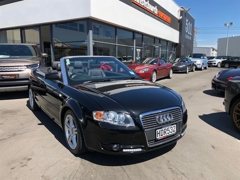image-1, 2006 Audi A4 3.2 V6 FSI SE Facelift Cabriolet at Christchurch