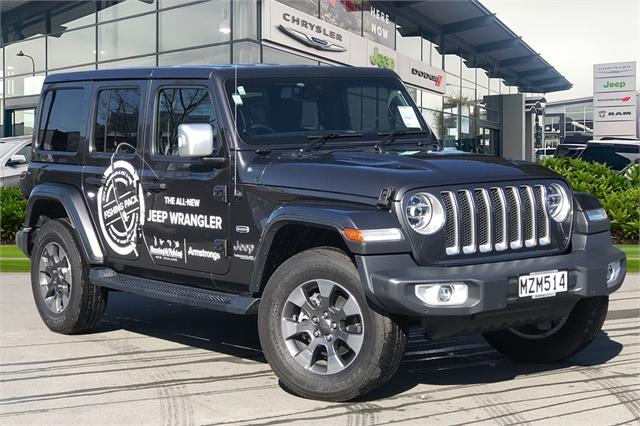 image-0, 2020 Jeep Wrangler Overland 3.6Lt Petrol at Christchurch