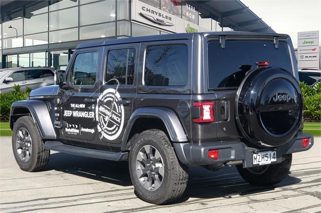 image-1, 2020 Jeep Wrangler Overland 3.6Lt Petrol at Christchurch