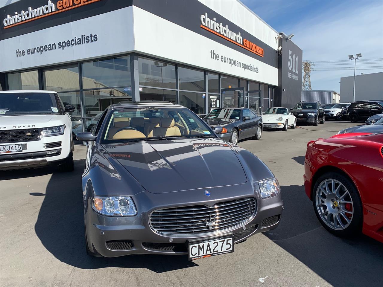 image-1, 2005 Maserati Quattroporte 4.2 V8 NZ New Sedan at Christchurch