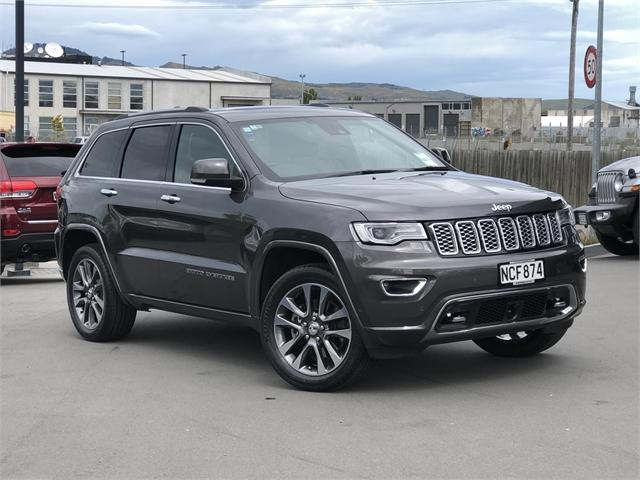 image-0, 2018 Jeep Grand Cherokee Overland 3.0Lt Diesel at Christchurch