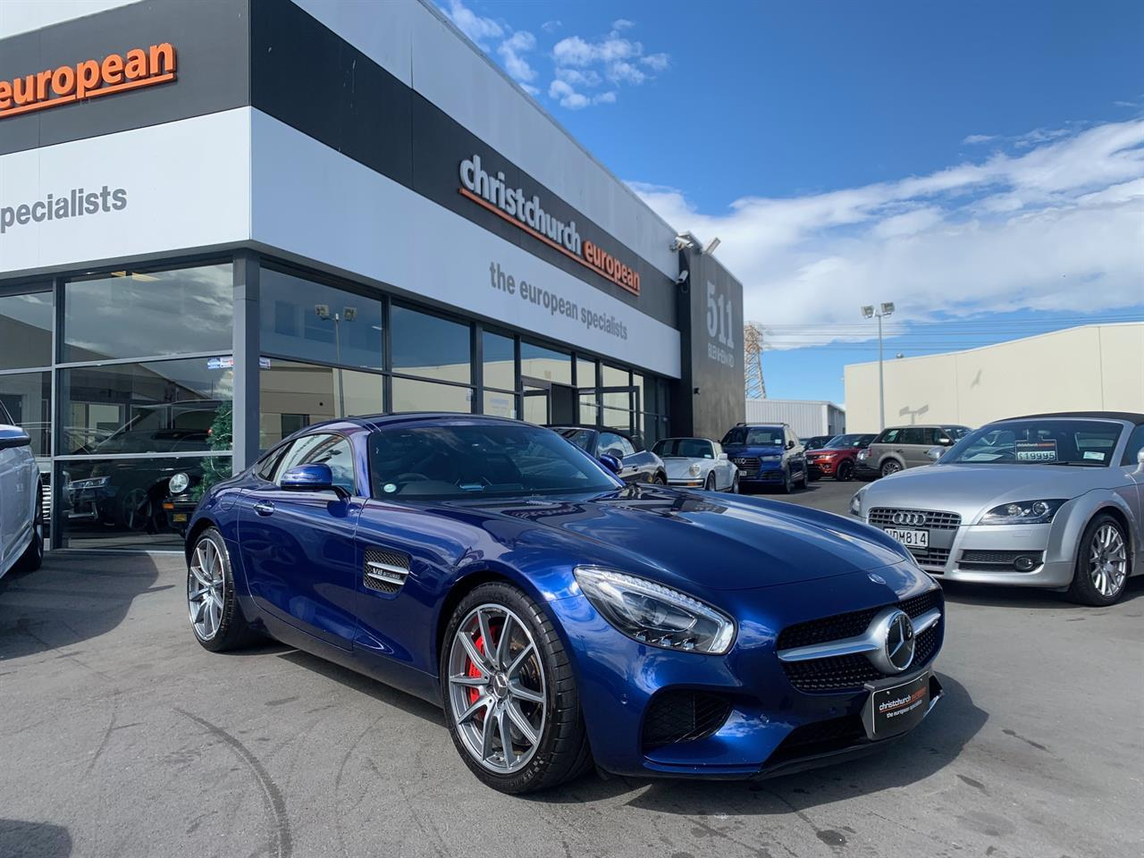 image-0, 2017 MercedesBenz AMG GT-S 4.0 V8 Coupe at Christchurch