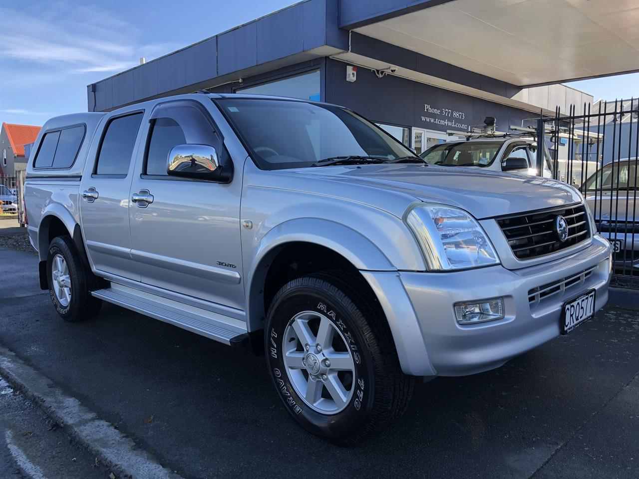 image-0, 2005 Holden Rodeo LT 2WD D/CAB at Christchurch