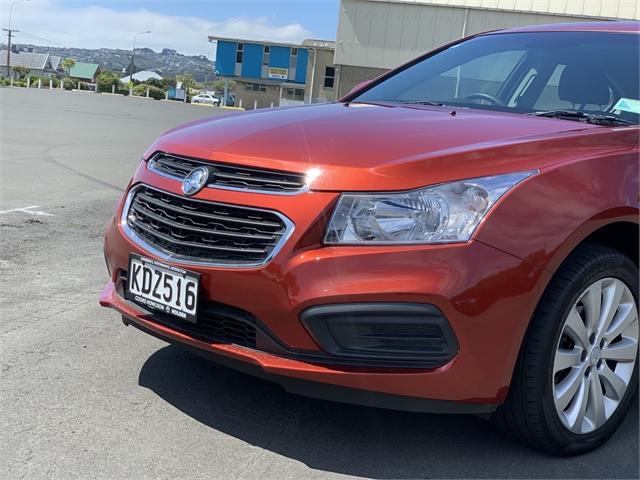 image-7, 2015 Holden Cruze 1.8L Equipe Sedan Auto at Dunedin