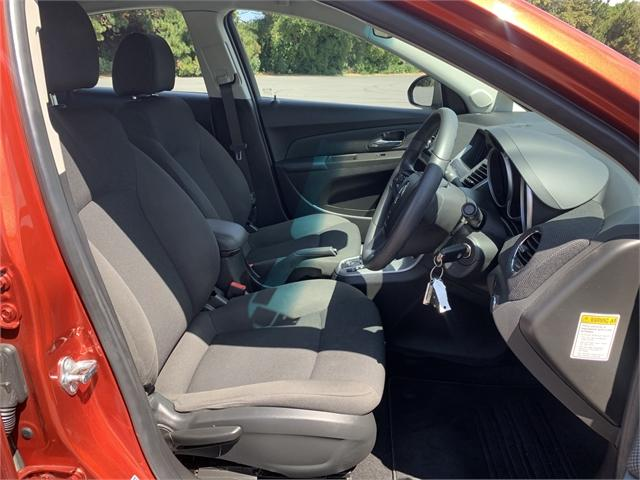 image-11, 2015 Holden Cruze 1.8L Equipe Sedan Auto at Dunedin