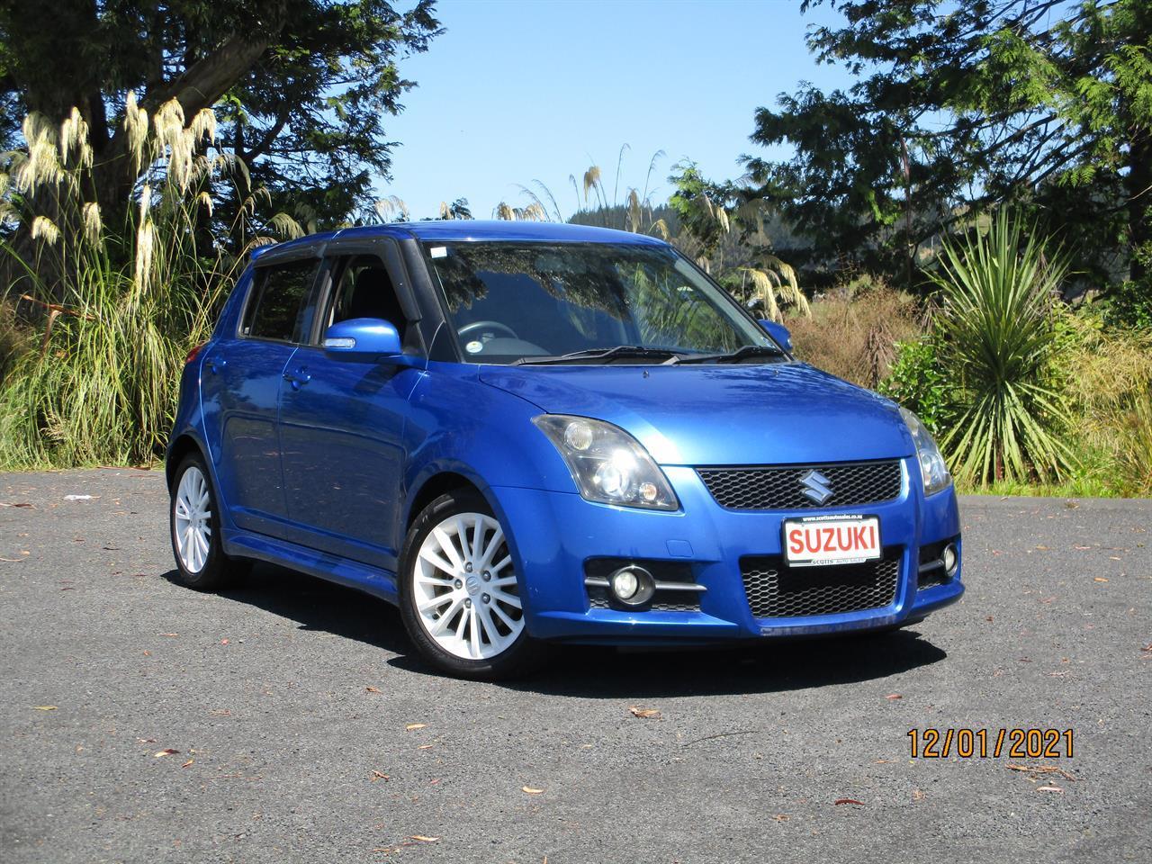 image-0, 2009 Suzuki Swift 1.6 sport at Dunedin