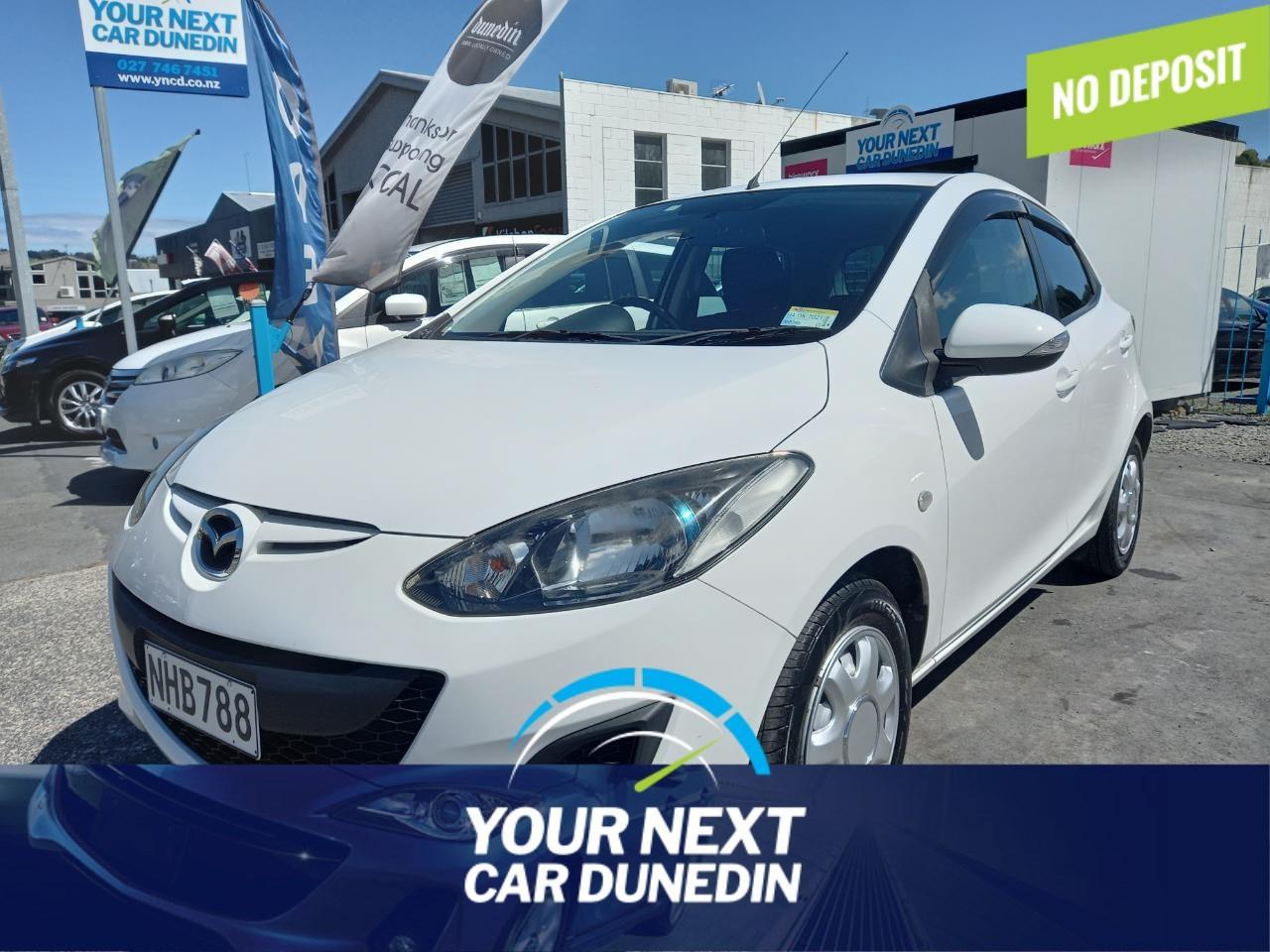 image-0, 2012 Mazda Demio No Deposit Finance at Dunedin