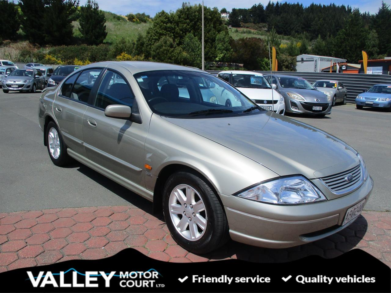 image-0, 2001 Ford Falcon AUII HERITAGE SERIES at Dunedin