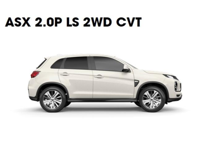 2021 Mitsubishi ASX LS ASX 2WD SUV on handshake