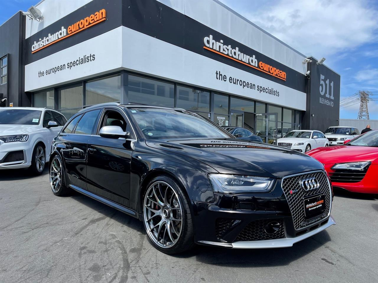 image-0, 2013 Audi RS4 4.2 V8 FSI Quattro Black Pack Wagon at Christchurch
