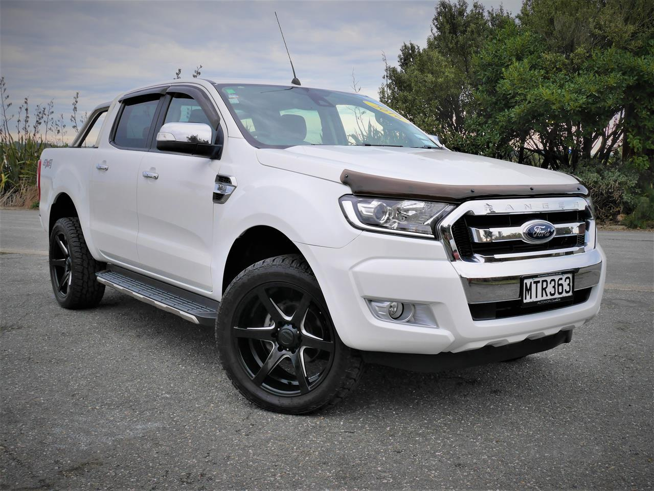 image-0, 2016 FORD RANGER XLT 3.2TD 4WD double cab at Invercargill