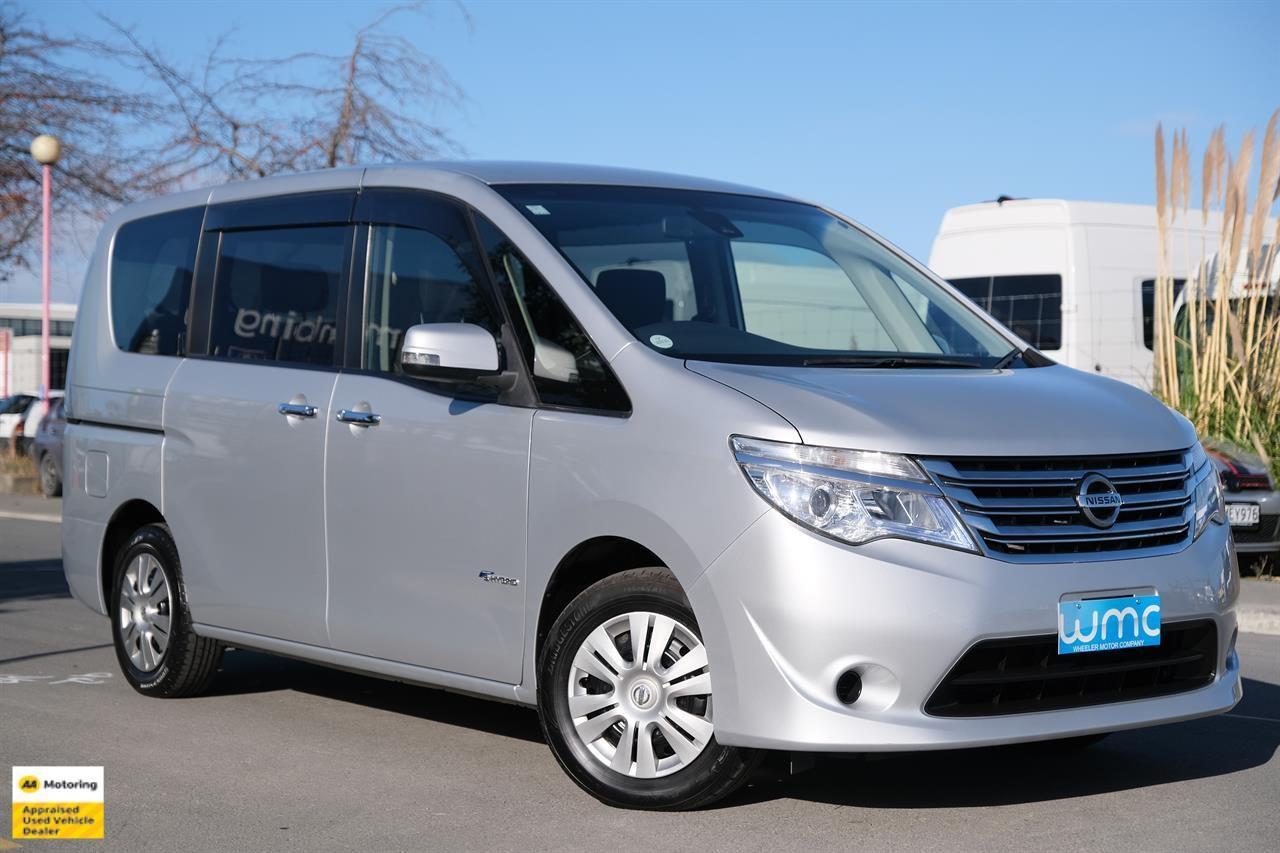 image-0, 2014 Nissan Serena 20XV-S Hybrid 8-Seater 'Facelif at Christchurch