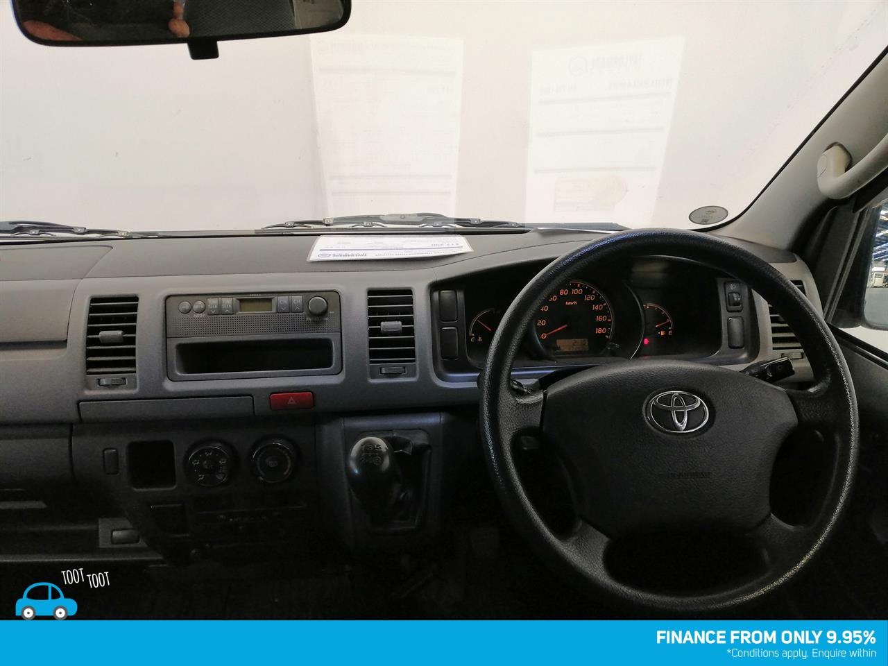 image-8, 2010 Toyota HIACE 5 Speed Manual at Dunedin