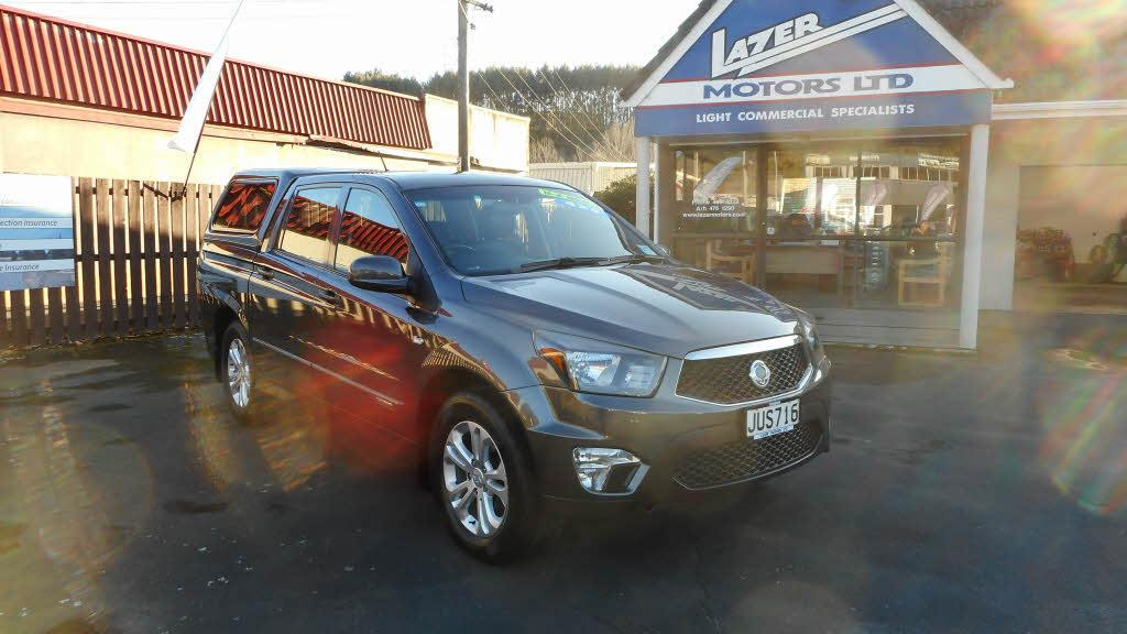 image-0, 2016 Ssangyong Actyon Sport Sports Auto 2.0D/4WD S at Dunedin