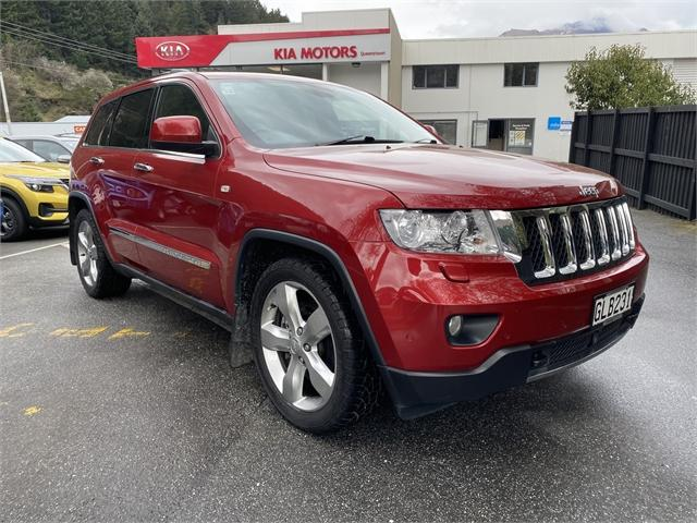 image-0, 2011 Jeep Grand Cherokee 3.0D Overland at Central Otago