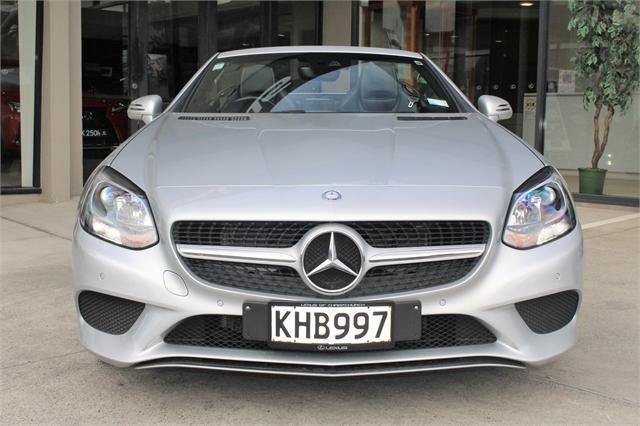 image-2, 2017 MercedesBenz SLC 180 Convertible, NZ New, Low at Christchurch