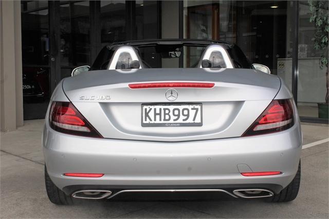 image-11, 2017 MercedesBenz SLC 180 Convertible, NZ New, Low at Christchurch