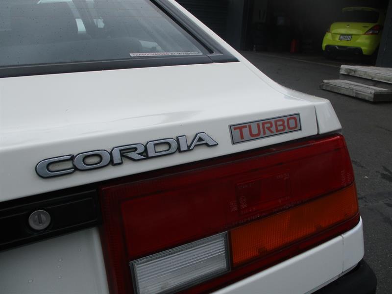 image-8, 1984 Mitsubishi Cordia turbo at Dunedin