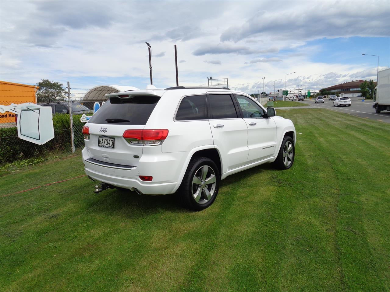 image-6, 2013 Jeep Grand Cherokee 3.0L V6 CRD OVERLAND at Christchurch