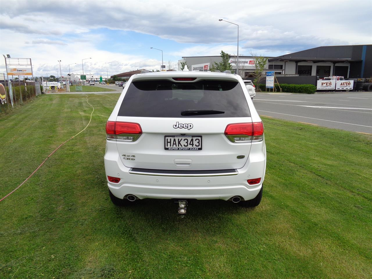 image-5, 2013 Jeep Grand Cherokee 3.0L V6 CRD OVERLAND at Christchurch