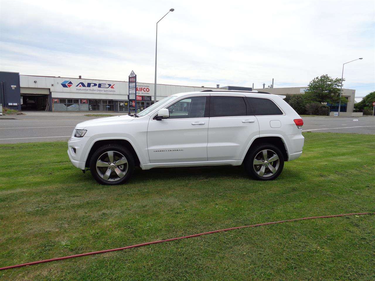 image-3, 2013 Jeep Grand Cherokee 3.0L V6 CRD OVERLAND at Christchurch
