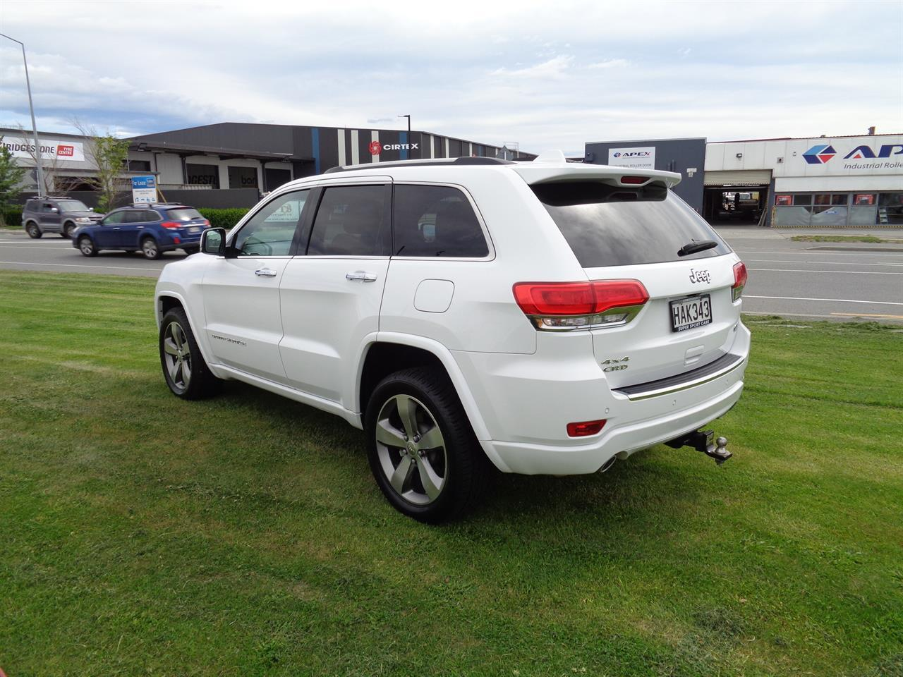 image-4, 2013 Jeep Grand Cherokee 3.0L V6 CRD OVERLAND at Christchurch