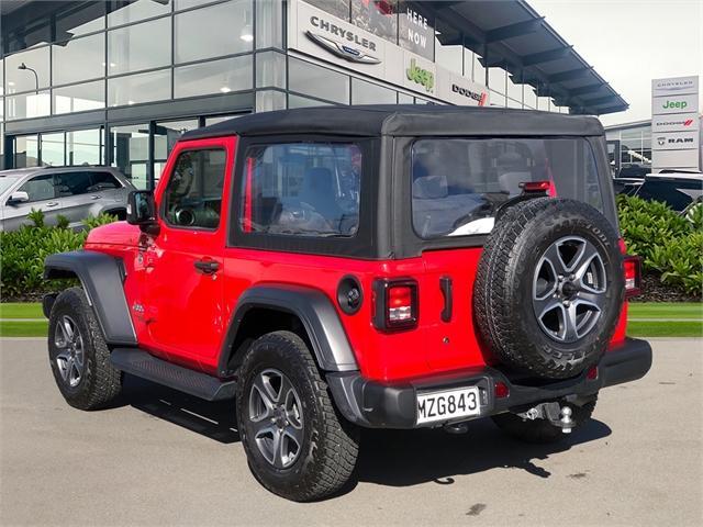 image-1, 2020 Jeep Wrangler Sport 3.6P at Christchurch