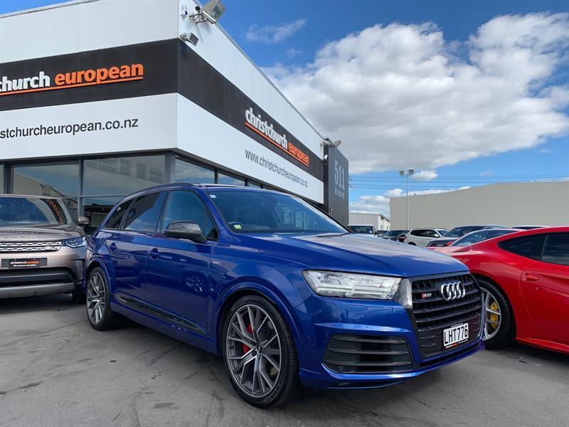 image-0, 2017 Audi SQ7 4.0 V8 Bi-TDI Quattro 320 KW at Christchurch