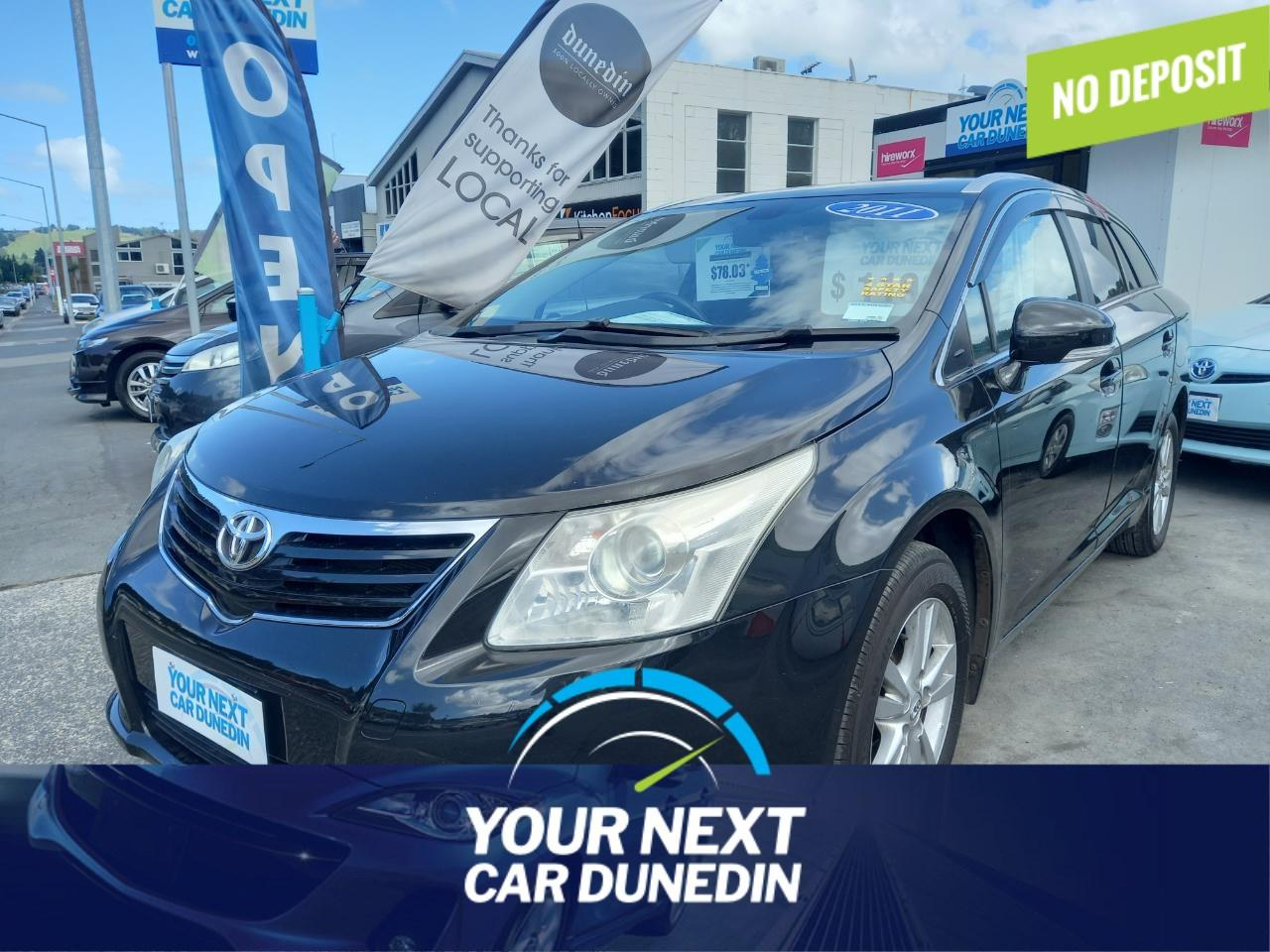 image-0, 2011 Toyota Avensis XI Safety Plus Smart Look at Dunedin