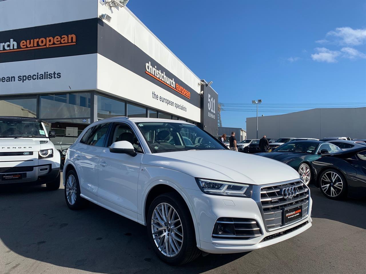 image-0, 2017 Audi Q5 2.0T FSI New Model Quattro at Christchurch