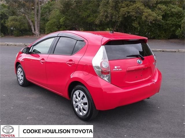 image-3, 2014 Toyota Aqua Hatchback at Dunedin