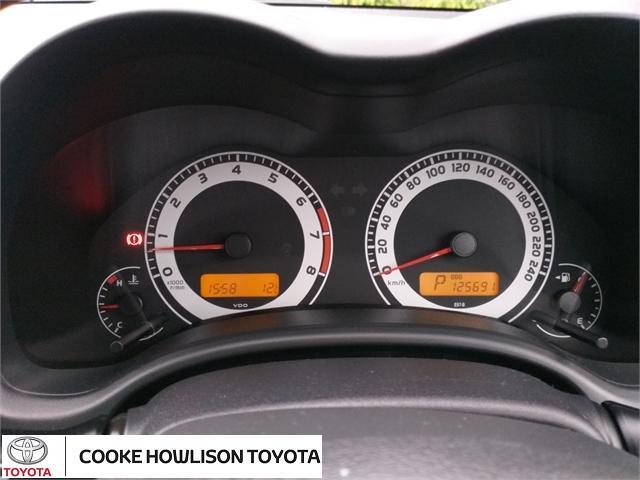 image-11, 2008 Toyota Corolla GX SEDAN at Dunedin