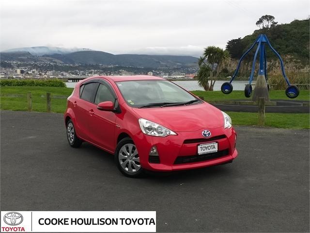image-0, 2014 Toyota Aqua Hatchback at Dunedin